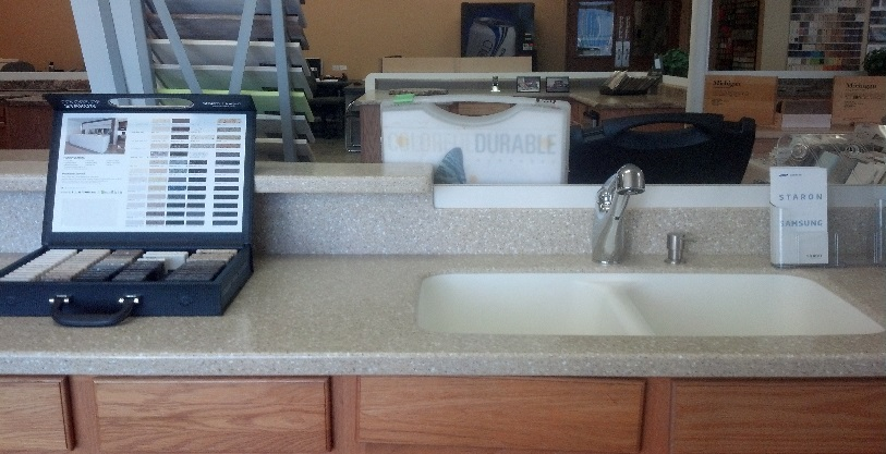 Of Colors And Patterns To Choose From Solid Surface Materials Can Be Formed Custom Shapes Sizes Edges At All Ends Countertops